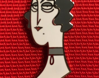 Judgmental Lady - Pin 1