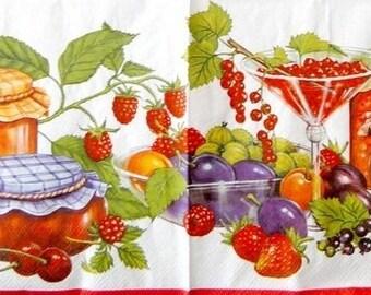 Decoupage napkins