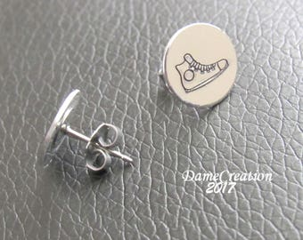 Converse High Top for Women Jewelry, Converse Stud Earrings, Converses for Women Gifts, Converse Earrings for Women