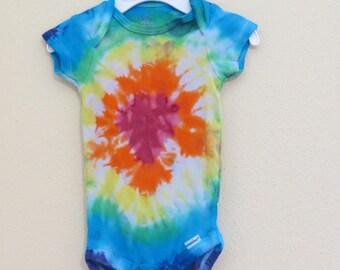 Tie Dye ONESIE, ONESIES® brand Body Suit, Rainbow, Infant ONESIES® brand Bodysuit , Tie Dye Bodysuit, Baby, Tie Dye, Onesie