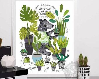 Poster Secret Garden (A3)