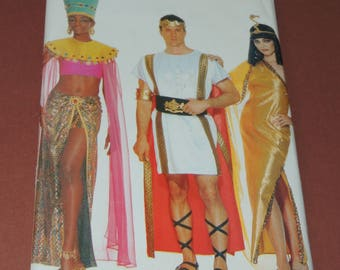 Uncut Cleopatra, Nefertiti and  Roman Emperor Pattern Butterick 447 Multiple sizes