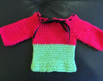 Watermelon inspired jumper