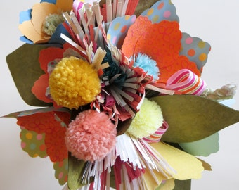 Peach Cobbler Grand Paper Bouquet