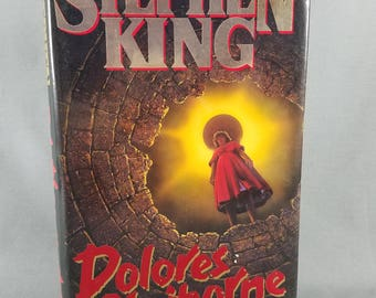 Book ~ Stephen King ~ Dolores Claiborne ~ 1993 ~ Scary ~ Hardcover ~ Horror ~ Novel ~ Fictional Literature ~ Macabre ~ My Nostalgic LIfe