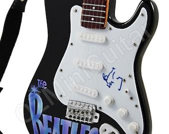 Miniature Guitar Art Series THE BEATLES