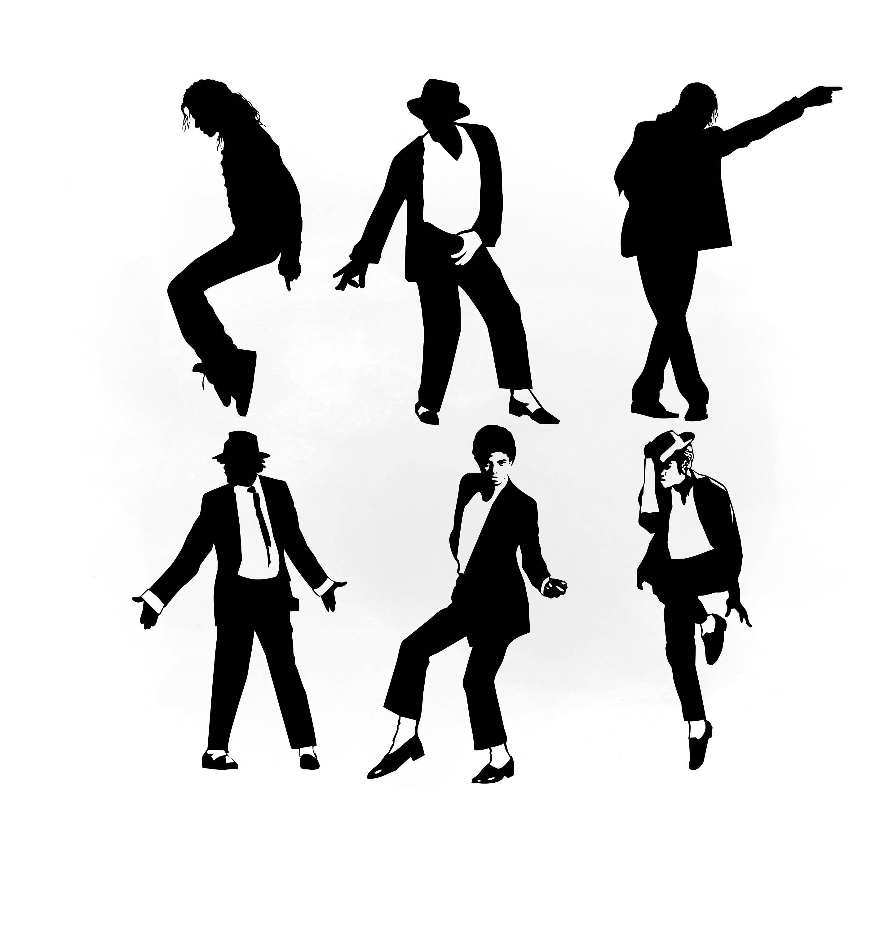 michael jackson svg clipart michael jackson vector svg files for rh etsystudio com michael jackson clip art free michael jackson thriller clip art
