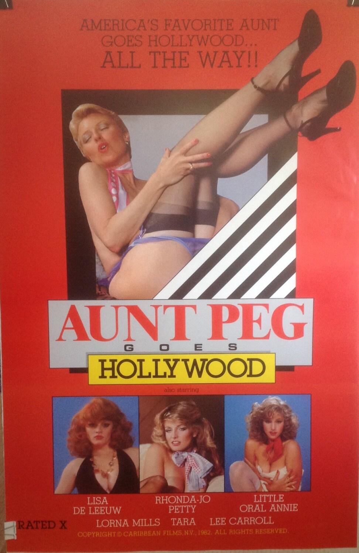 Aunt Peg Goes Hollywood Adult Movie Poster Lisa De Leeuw-7432
