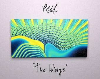 Contemporary art canvas print / Modern art canvas print - abstract art print / wall canvas / wall hanging