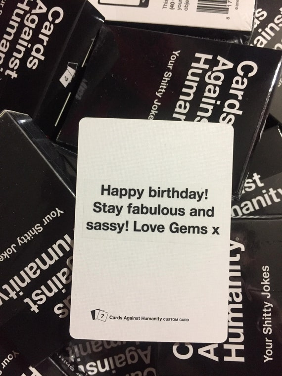 Cards Against Rumanity Cards To Make You Death Drop Pride