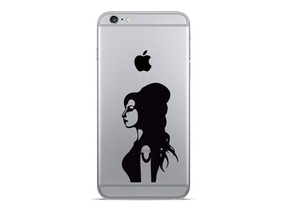 Amy winehouse iphone 6 decals iphone 7 plus stickers music