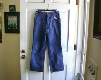 Navy Denim Jeans Size 16