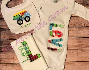 Baby Home from Hospital Gown Set