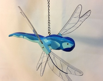 Dragonfly Whirligig for House and Garden