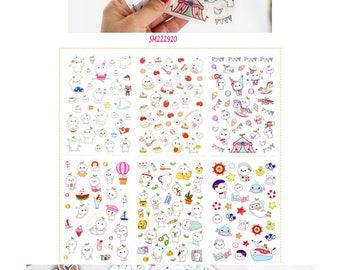 Stickers Budding Pop v2 SM222920