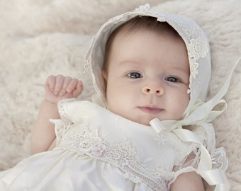 Christening Gown/Isabella/ Baptism Gown/ Christening Dress/ Christening Outfit/Blessing gown/Blessing Outfit/Girls Baptism Outfit/Baptism