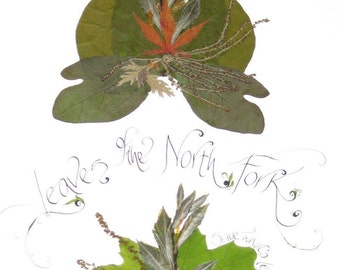 Leaves of the North Fork-print