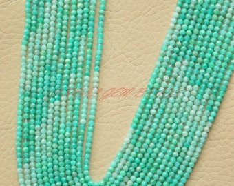 Natural Amazonite Beads, Amazonite Faceted Shaded Rondelle Beads, 2.25 MM Size, 13 Inches Strand, High Quality, Amazonite Rondelles