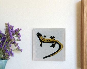 Western Long-toed Salamander Stitching
