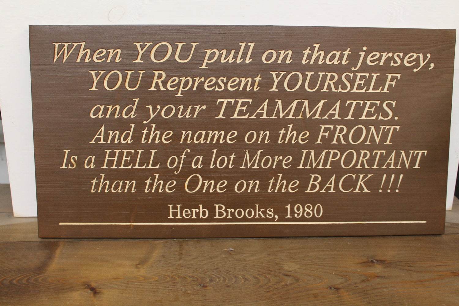 Man Cave Rules : Herb brooks quote usa hockey team 1980 olympics