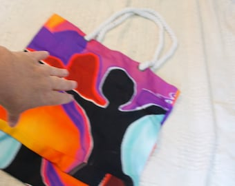 Large tote bag WELL MADE STURDY