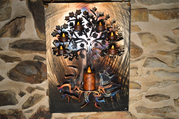 3D Tree of Life Metal Wall Art