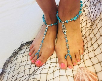 Turtle on Barefoot Sandals