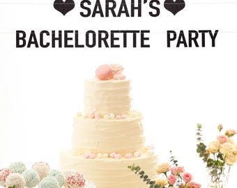 Bachelorette party banner custom banner bachelorette party decorations bridal shower banner engagement party banner bridal shower decor