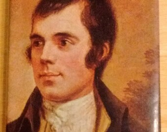 Poems and Songs of Robert Burns 1983 reprint of 1955, illustrated hardcover with dustjacket