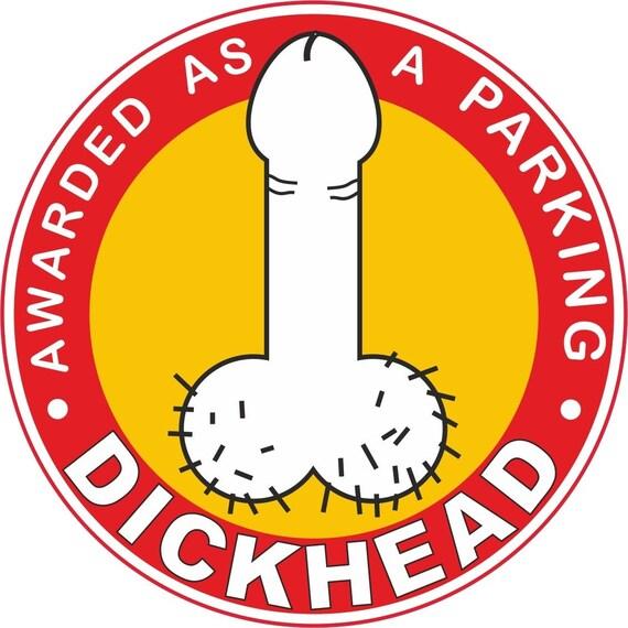 Asshole Parking Sticker