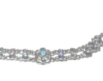 Beautiful Virgin Mary Aurora Borealis Bracelet