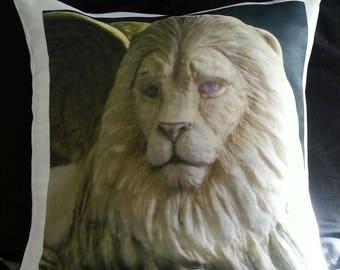 Golden Winged Lion - Pillow Case