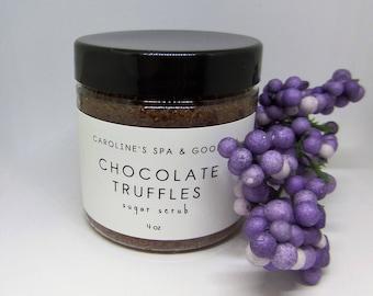 Chocolate Truffles Sugar Scrub