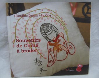 """Book """"Memories of China"""" traditional embroidery"""