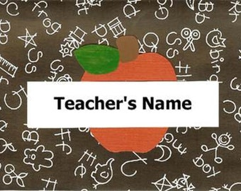 Personalized Teacher Notecards