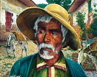 Don Pedrito // Giclee on Canvas