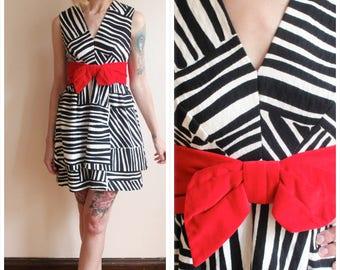 1960s Dress // Animal Print Party Dress // vintage 60s dress