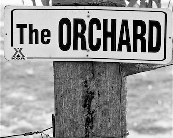 The Orchard Sign