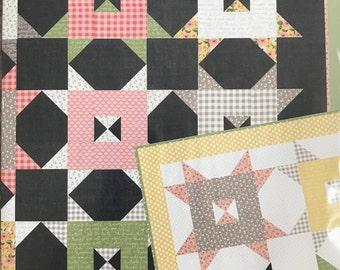 "Barn Style #159 - Quilt Pattern - Lella Boutique - Finished 68"" x 68"" - Vanessa Goertzen"