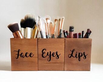 Makeup Brush Holder Etsy