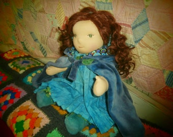 Doll Cape With Hood