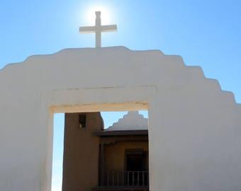 TAOS PUEBLO CHURCH, Located on the Taos Pueblo In Northern New Mexico.