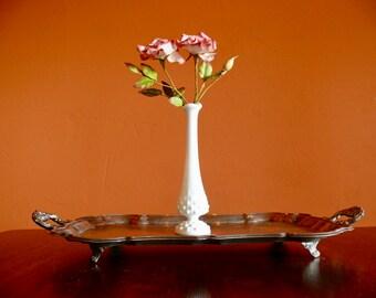 Fenton Swung Hobnail White Milk Glass Bud Vase, Country Farmhouse, Mother's Day Gift, Wedding Milk Glass