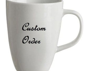 Custom Coffee Mug - Personalized Gifts 10 oz Cup