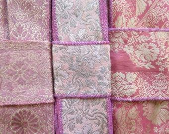 Pink Sari borders, Sari Trim SR575