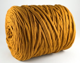 Copper T-shirt Yarn, T-Shirt Yarn, Copper Yarn, Textile Yarn, Fabric Yarn, Basket Yarn, Zpagetti, Trapillo, Recycled Yarn, Ribbon Yarn