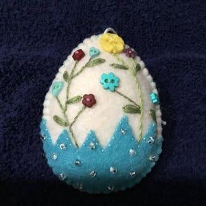 Handcrafted Easter egg