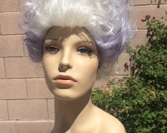 Ursula Sea Witch Little Mermaid Custom Dyed Wig