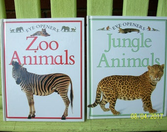 Eye-Openers Jungle Animals and Zoo Animals