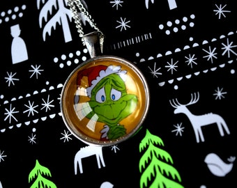 How The Grinch Stole Christmas - Dr Seuss Animation Necklace
